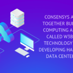 CONSENSYS AND AMD ARE TOGETHER BUILDING CLOUD COMPUTING ARCHITECTURE CALLED W3BCLOUD. THE TECHNOLOGY IS AIMING AT DEVELOPING HARDWARE-BASED DATA CENTER PRODUCTS.