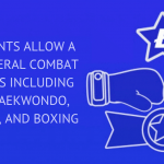 WIMPLO GLORY EVENTS ALLOW A MIX OF SEVERAL COMBAT DISCIPLINES INCLUDING KARATE, TAEKWONDO, MUAY THAI, AND BOXING