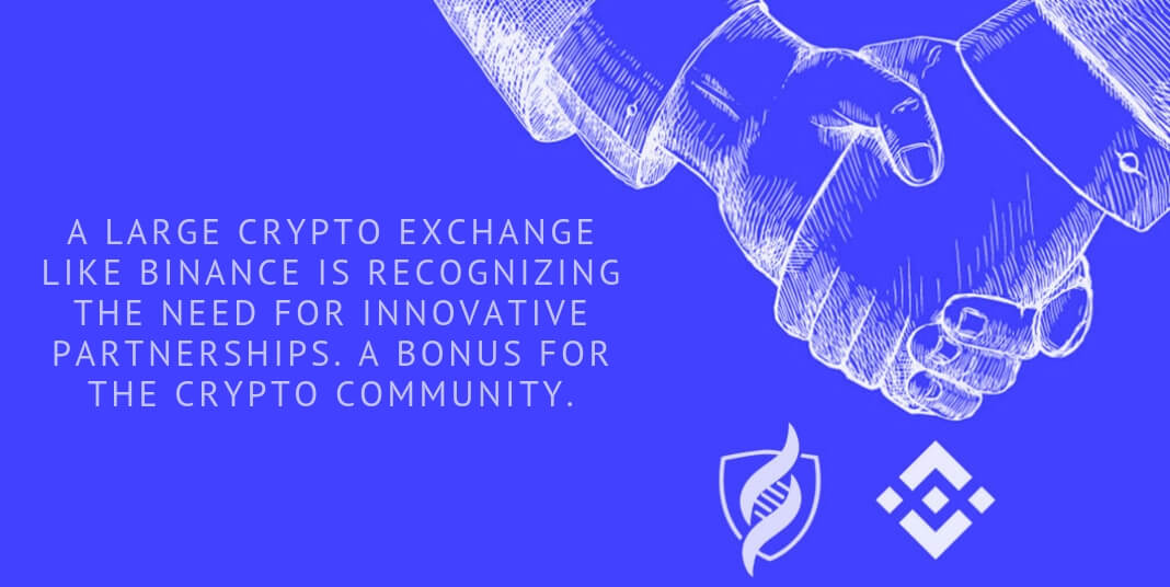 A large crypto exchange like Binance is recognizing the need for innovative partnerships. A bonus for the crypto community.