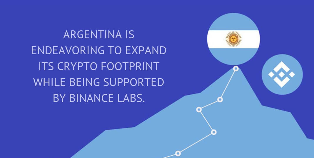 ARGENTINA IS ENDEAVORING TO EXPAND ITS CRYPTO FOOTPRINT WHILE BEING SUPPORTED BY BINANCE LABS.