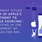 """Apple's document was titled as """"Summary of Apple's Commitment to Responsible Sourcing."""""""