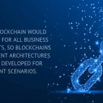 a single blockchain would not suffice for all business requirements, so blockchains with different architectures are being developed for different scenarios.