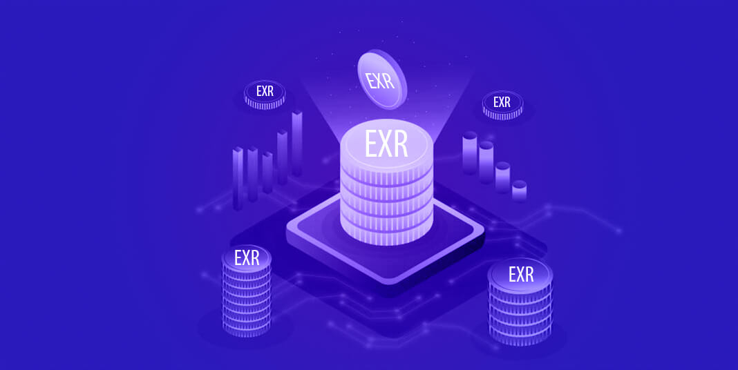 A new collateral digital asset, EXR, launched