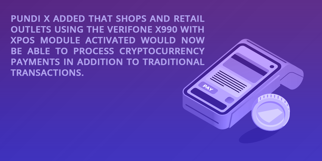 Pundi X added to shops and retail outlets